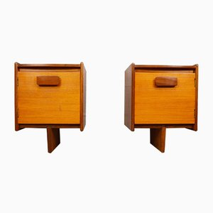 Mid-Century Teak Bedside Cabinets from White and Newton, Set of 2