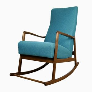 Mid-Century Modern German Rocking Chair, 1960s