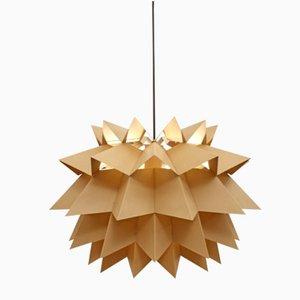 Lampe à Suspension Star Light par Anton Fogh Holm & Alfred J Andersen pour Nordsik Solar, 1960s