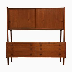 RY-20 Danish Teak Highbard by Hans J. Wegner for Ry Møbler, 1959