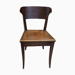 Antiker Hellerauer Stuhl von Richard Riemerschmid für Deutsche Werkstätten Dresden-Hellerau