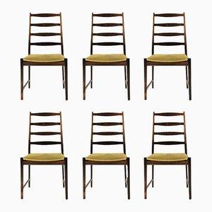 Model 113 Dining Chairs in Rosewood by Torbjørn Afdal for Vamo Sonderborg, 1960s, Set of 6