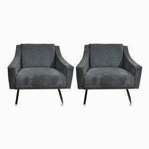Genoa Armchairs from VEB Matratzen and Polstermöbelfabrik Cottbus, 1970s, Set of 2