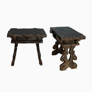 Vintage Nightstands, Set of 2