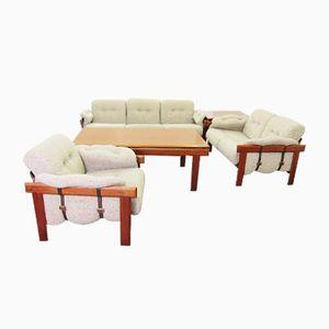 Living Room Set in Teak by H.W. Klein for Bramin, 1960s