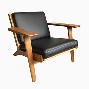 Model GE290 Lounge Chair by Hans J. Wegner for Getama, 1950s