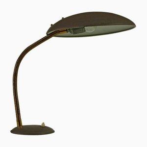 Graue Bauhaus Tischlampe von Philips, 1960er
