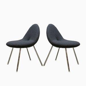 Kleine Conco Esszimmerstühle von Michiel van der Kley für Artifort, 2006, 4er Set