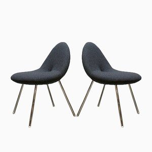 Genial Little Conco Dining Chairs By Michiel Van Der Kley For Artifort, 2006, Set  Of