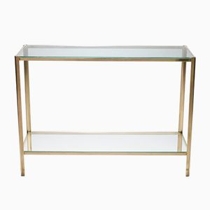 Console in Bronze by Jacques Quinet for Broncz, 1960s