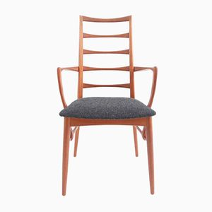 Mid-Century Danish Armchair in Teak and Wool by Ib Kofod-larsen for Hornslet Møbelfabrik