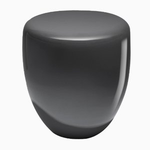 Dot Side Table or Stool in Slate Grey by Reda Amalou
