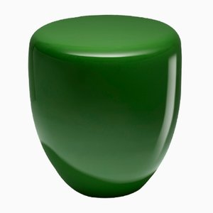 Dot Beistelltisch oder Hocker in Grün von Reda Amalou