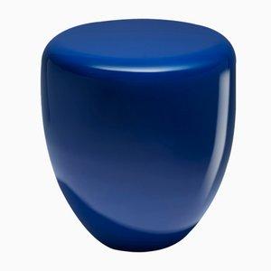 Dot Beistelltisch oder Hocker in Persischem Blau von Reda Amalou