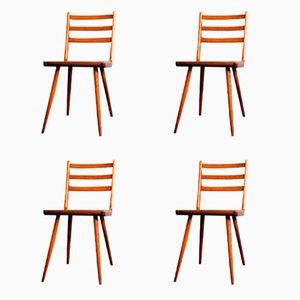 Vintage Boomerang Dinning Chairs, Set of 4