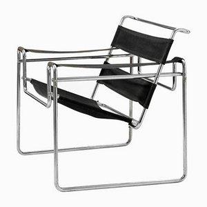 Vintage Modell B3 Wassily Armlehnstuhl von Marcel Breuer für Thonet-Mundus