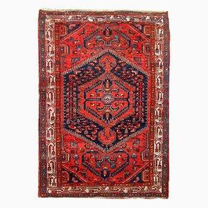 Handgeknüpfter Persischer Vintage Hamadan Teppich, 1960er