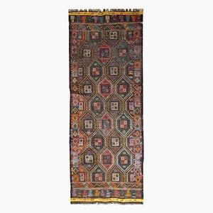 Vintage Handmade Tunisian Flat-Weave Kilim, 1930s