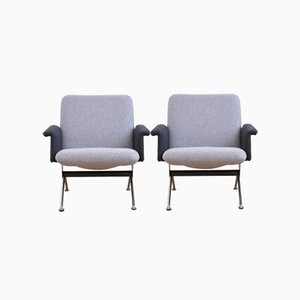 1432 Armchairs by A.R. Cordemeyer for Gispen, 1961, Set of 2