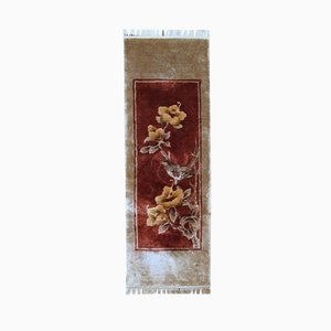 Vintage Handmade Art Deco Chinese Rug, 1970s