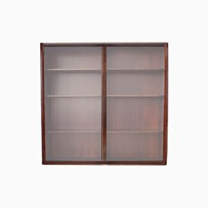 Model 10 Rosewood Display Cabinet from Omann Jun, 1960s