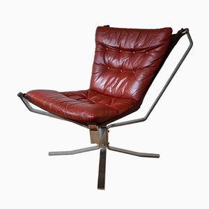 Danish Falcon Chair by Sigurd Ressell, 1970s