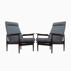 Manhattan Armchairs by Eric Pamphilon & George Freyer for Guy Rogers, 1967, Set of 2