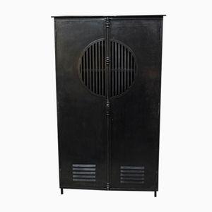 Industrial Cabinet with 2 Doors, 1930s