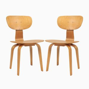 SB02 Chairs by Cees Braakman for Pastoe, 1950s, Set of 2