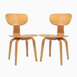 SB02 Stühle von Cees Braakman für Pastoe, 1950er, 2er Set