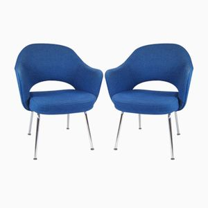 Conférence Chairs by Eero Saarinen for Knoll, 1950s, Set of 2