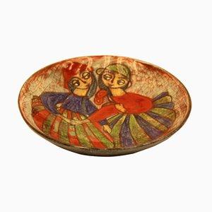 Scodella in ceramica di Marianne Starck per Michael Andersen Bornholm, Danimarca, anni '50