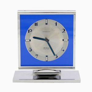Art Deco Desk Clock from Angelus, 1930s