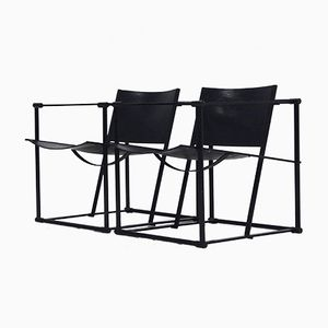 FM61 Lounge Chairs by Radboud van Beekum for Pastoe, 1980s, Set of 2