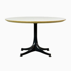 Mid-Century Round Coffee Table by George Nelson for Herman Miller