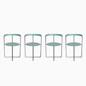 Soley Folding Chairs by Valdimar Harðarson for Kusch, 1982, Set of 4
