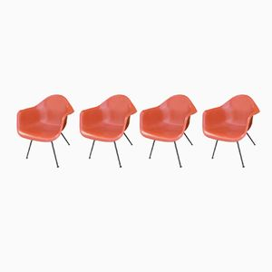 Vintage Chairs by Charles & Ray Eames for Herman Miller, Set of 4