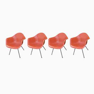 Vintage Stühle von Charles & Ray Eames für Herman Miller, 4er Set