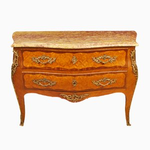 French Rosewood & Mahogany Inlaid Dresser, 1950s