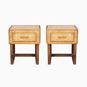 Tables de Chevet par Gabriella Crespi pour Dior Home, Italie, 1970s, Set de 2