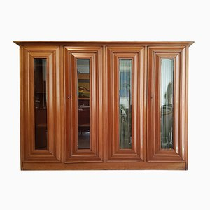 Art Nouveau Mahogany Bookcase by August Endell