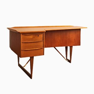 Danish Teak Desk by Peter Løvig Nielsen for Løvig, 1966