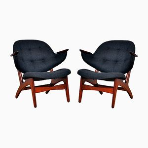 33 Sessel von Carl Edward Matthes, 1950er, 2er Set