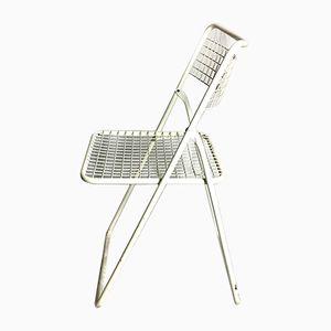 Chaises Pliantes par Niels Gammelgaard, Suède, 1980s, Set de 4