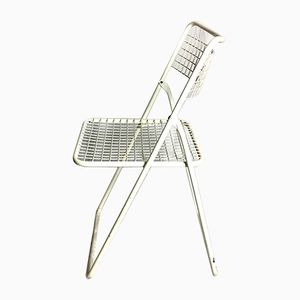 Swedish Folding Chairs by Niels Gammelgaard, 1980s, Set of 4