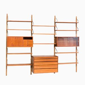 Vintage Danish Wall Unit by Poul Cadovius for Royal System
