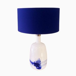 Danish Glass Table Lamp from Le Klint, 1950s