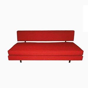 Sofá cama italiano de ISA, años 50
