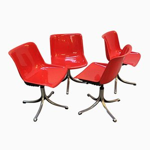 Vintage Modus Chairs by Osvaldo Borsani for Tecno, Set of 4