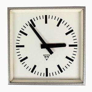 Industrial Railway Clock from Pragotron, 1980s